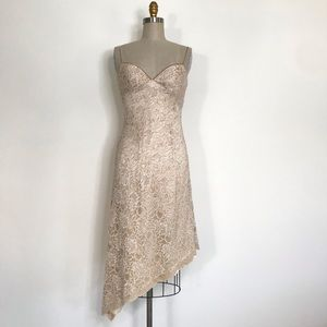 White House black market Lace dress size 6
